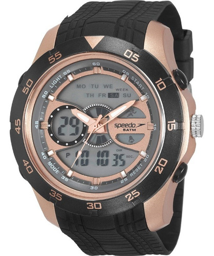 relógio speedo masculino esportivo anadigi 81126g0evnp4