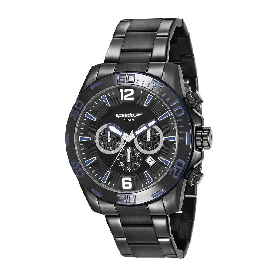 0ab76f5cac8 relógio speedo masculino ref  24867gpevps2 conógrafo black. Carregando zoom.