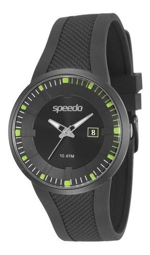 relógio speedo masculino ref: 81124gpevpu2 esportivo black