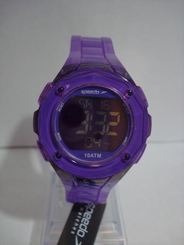 relógio speedo watches azul transp royal ref: 80546loebnp7