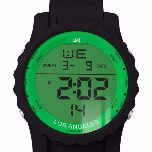 6fd5456cef1 Relógio Sport 18k Watches Palmeiras Neymar Los Angeles Digit - R  244