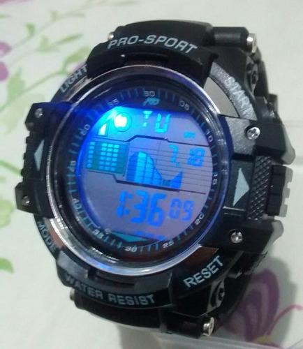 relógio sport masculino top digital barato