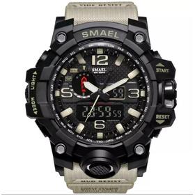 Relógio Sportivo Militar Smael+ Brinde