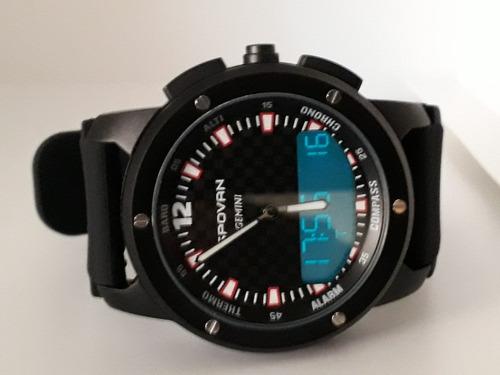 relógio spovan bússola altímetro barômetro termômetro...