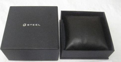 relógio steel estojo original