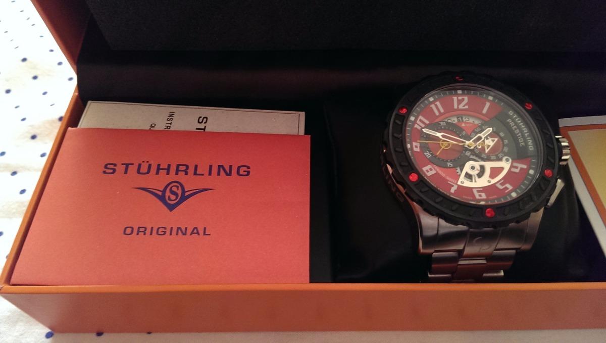 ba0cf5a0d7f Relógio Stuhrling Ref. 329.33114 Raridade Peça 20 De 125 - R  1.983 ...