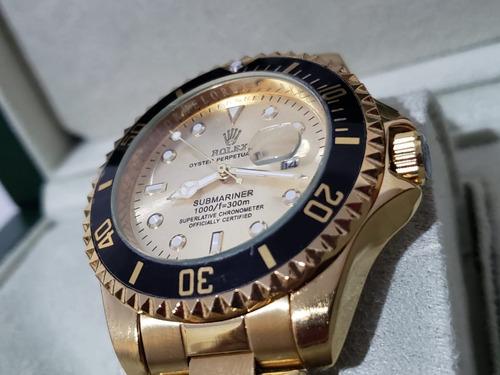 relógio submariner caixa 45mm pronta entrega
