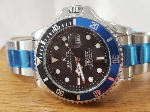 relógio submariner masculino preto misto
