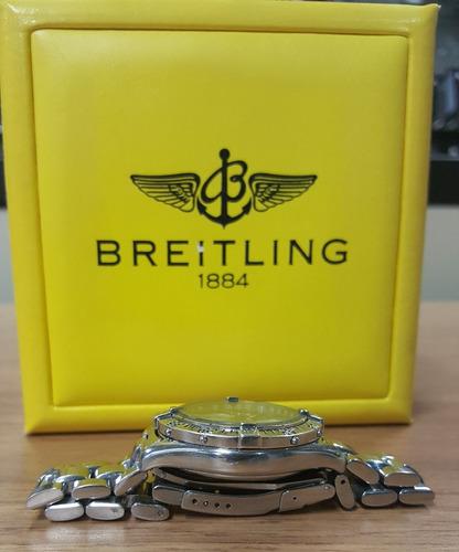 relógio suíço breitling chronograph colt
