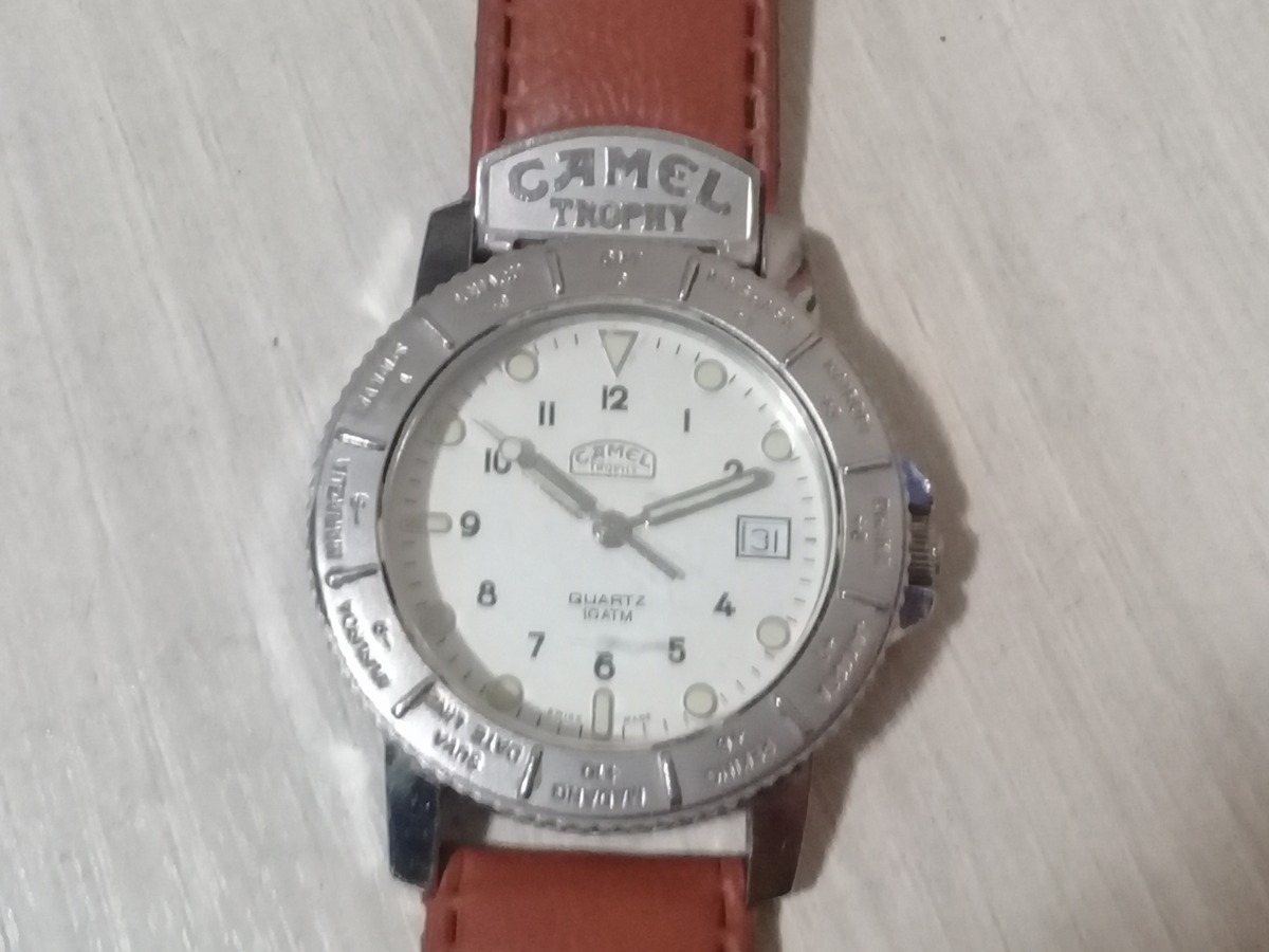 caee25c4216 relógio suíço camel trophy adventure. Carregando zoom.