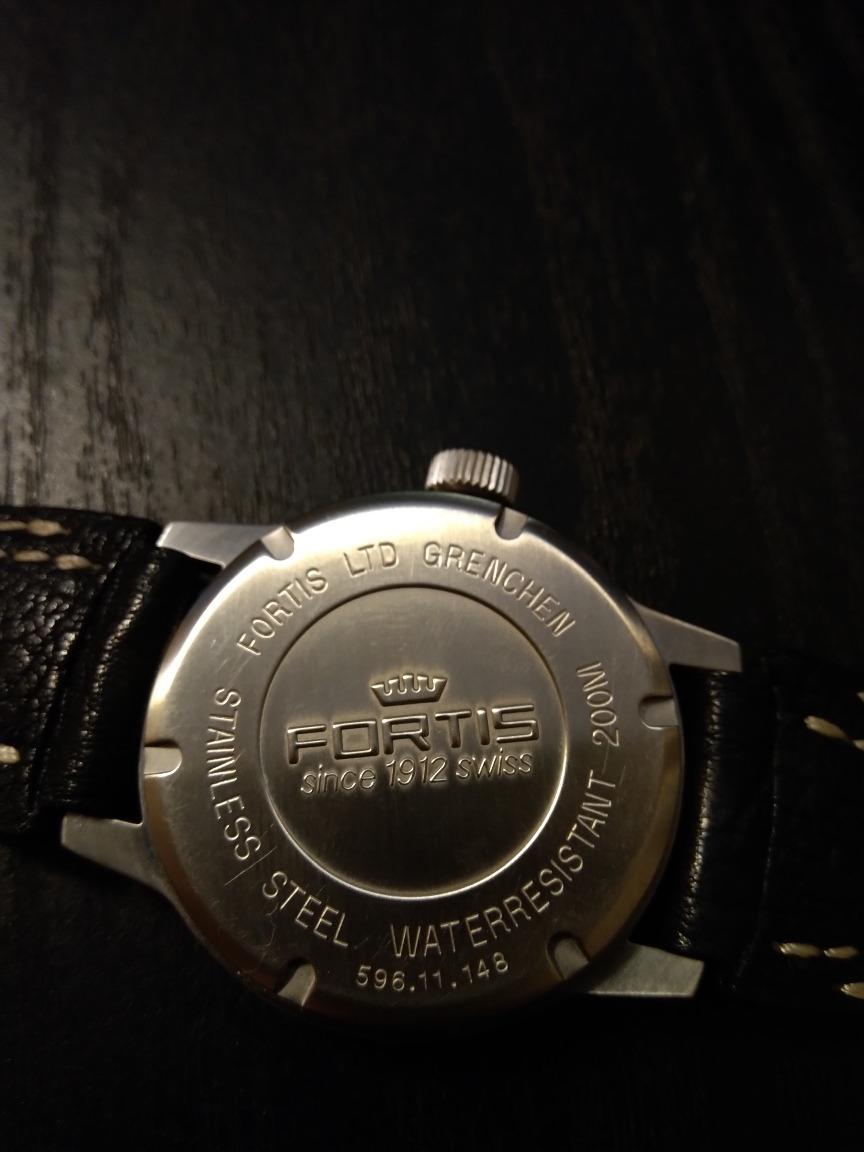 9a809eb3fdc relógio suíço fortis flieger 24h automatic. Carregando zoom.