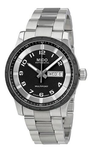relógio suiço mido multifort automatic