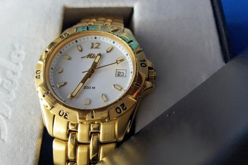 relógio suíço | mido quarz m4525.3.16.1 | cristal safira