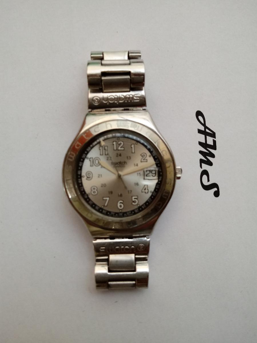 3b6674c2008 relógio suíço original swatch linha irony. Carregando zoom.