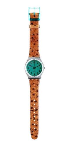 relogio suíço swatch, greenie, modelo raro, novo na caixa