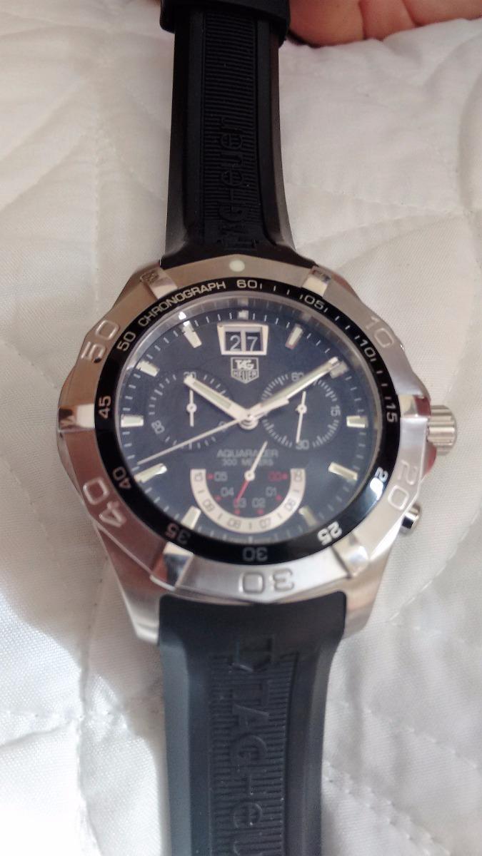 283d6edc9c1 relógio suíço tag heuer masculino cristal safira. Carregando zoom.