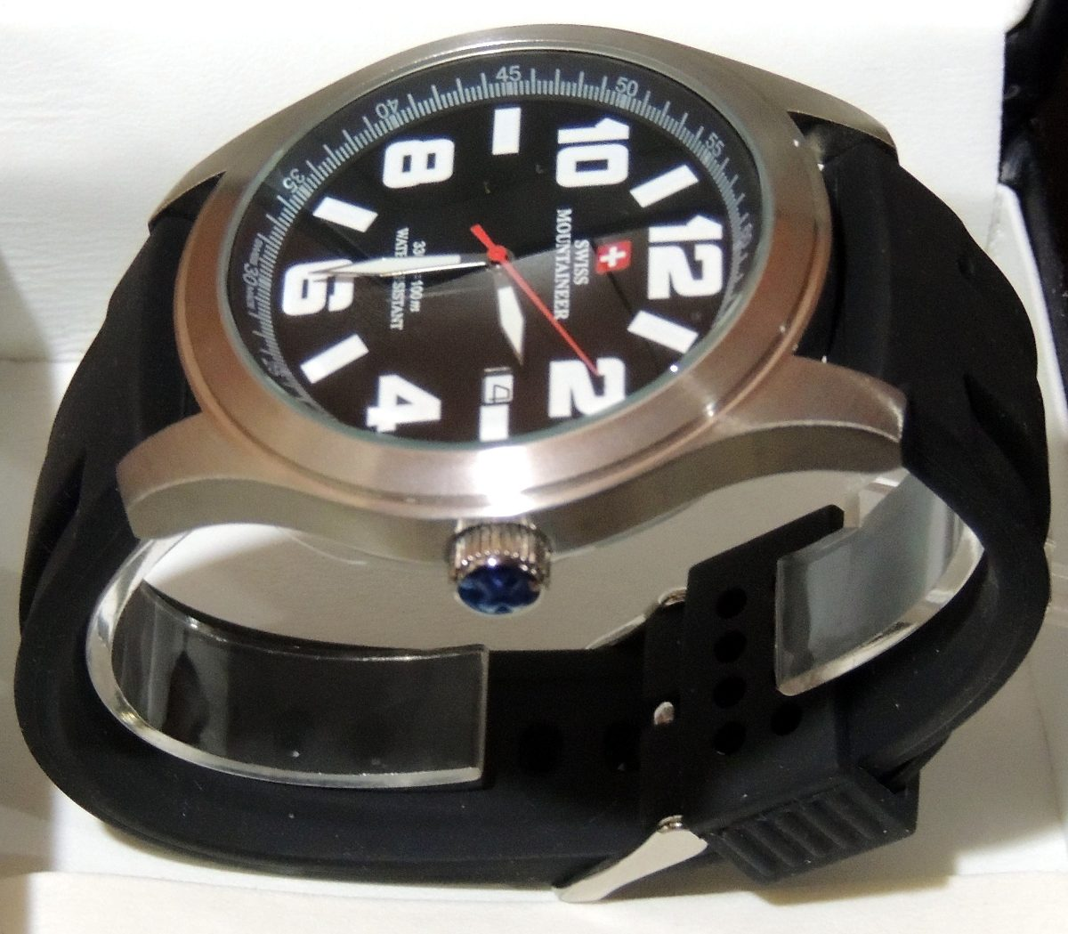b3939a1a19a relogio suiço watch swiss mountaineer sml8040 48mm. Carregando zoom.