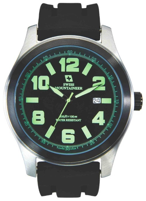 6d924a9d533 Relogio Suiço Watch Swiss Mountaineer Sml8042 48mm - R  380
