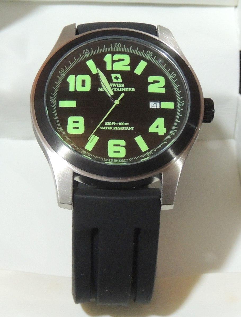 00b45fdf5 relogio suiço watch swiss mountaineer sml8042 48mm. Carregando zoom.