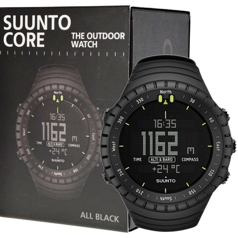 d025a26403f Relógio Suunto Core All Black Military Original - R  1.150