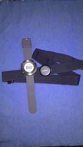 relógio suunto traverse + cinta - semi novo