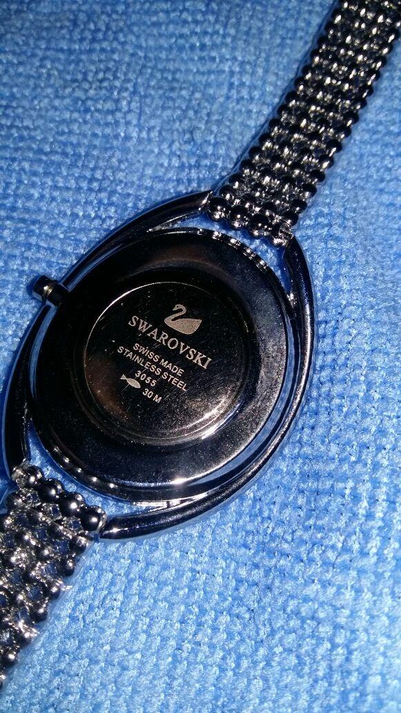 9abe263626a relógio swarovski crystalline! lindíssimo ninguém tem! Carregando zoom.