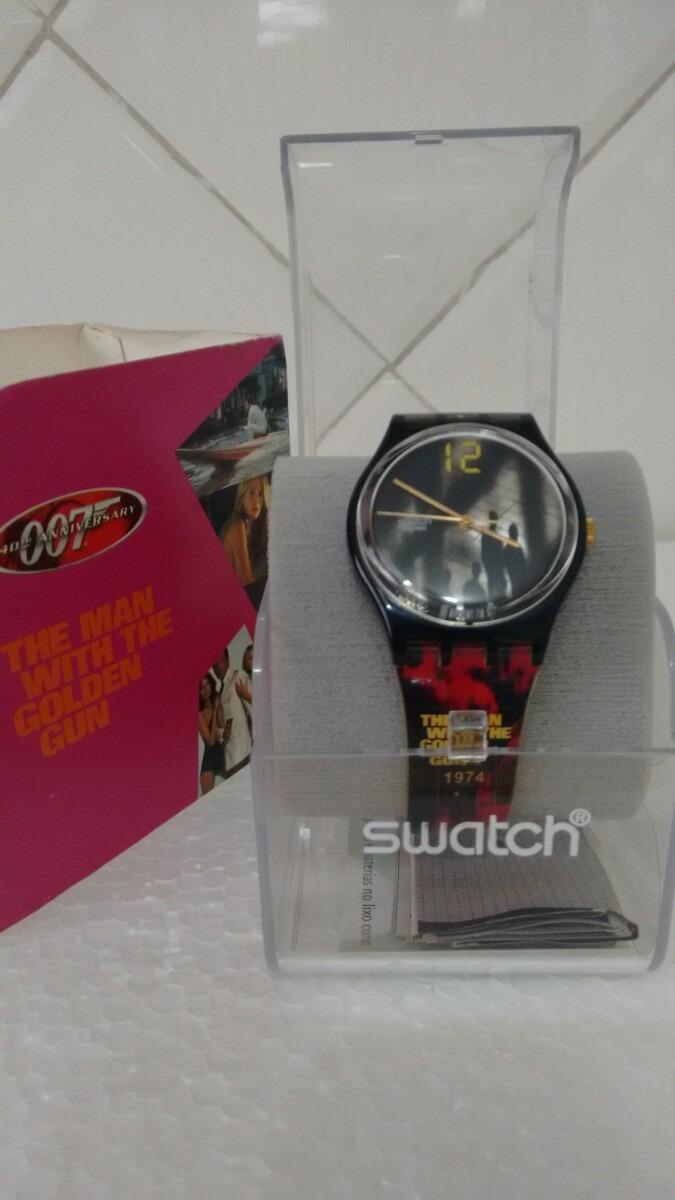 Relógio Swatch 007 The Man With The Golden Gun R 30000 Em