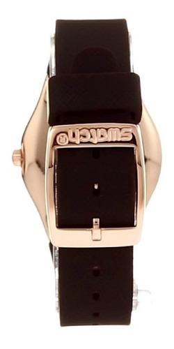relógio swatch brownee - ylg701