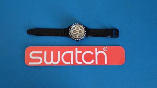 relógio swatch chrono automático svgb400 - nunca usado suiço