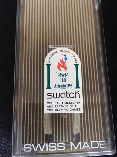 relógio swatch chrono edição limitada raríssimo novo