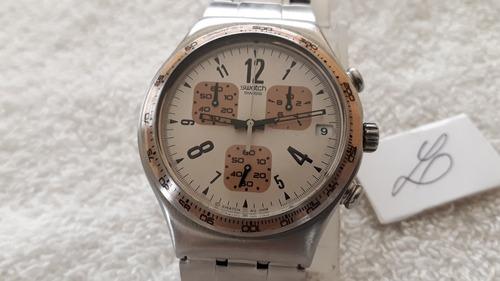 relógio swatch cronógrafo, coleção 2008 - lindo !