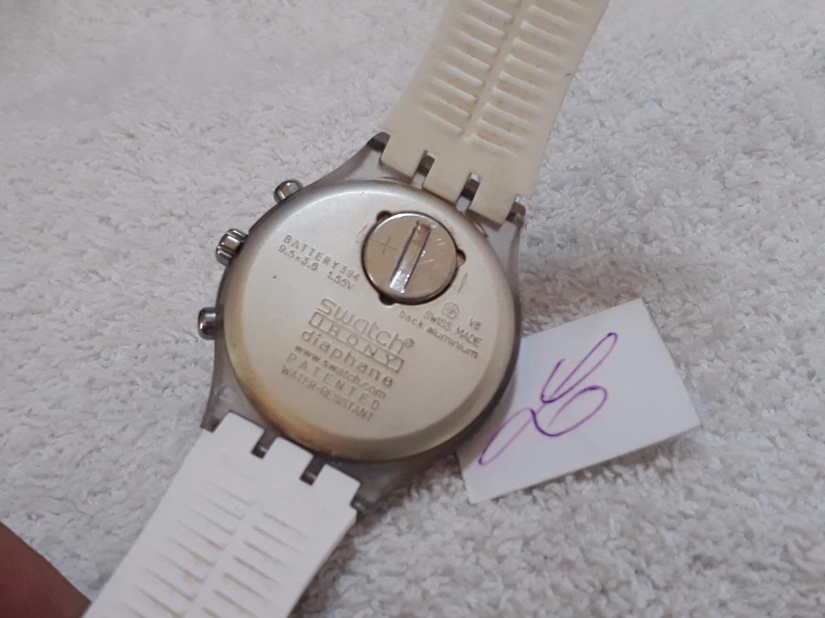 b1a42868e1a Relógio Swatch Diaphane + Estojo