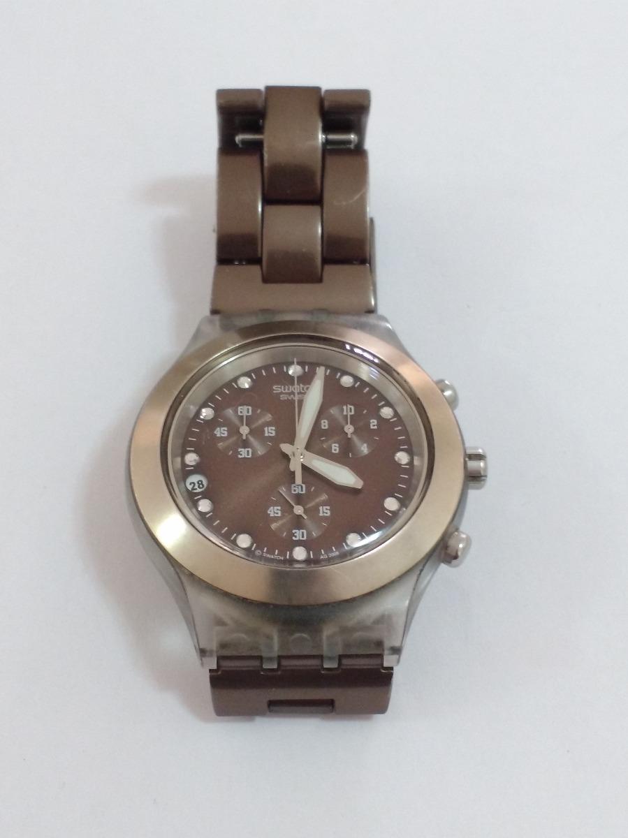 2ecd7b6c296 relógio swatch diaphane original funcionando. Carregando zoom.