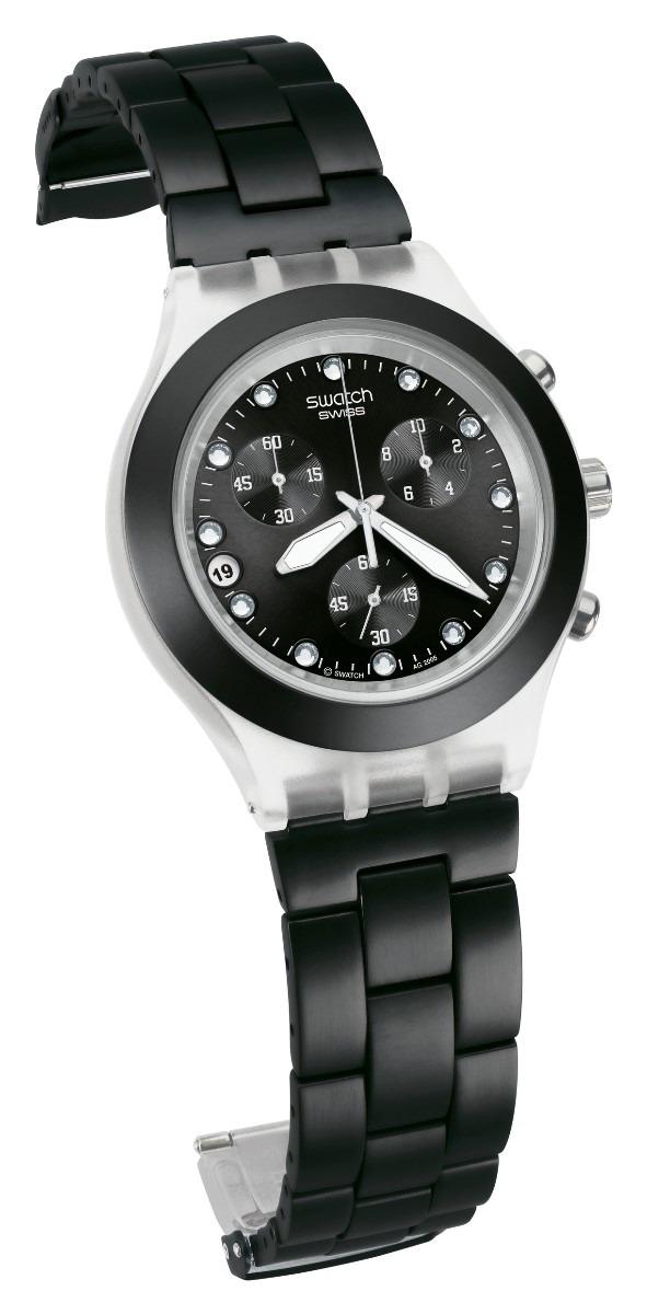 55e9c96a02c relógio swatch full blooded black svck4035g. Carregando zoom.