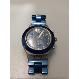 Relogio Swatch Full Blooded Sea Svck4041ag