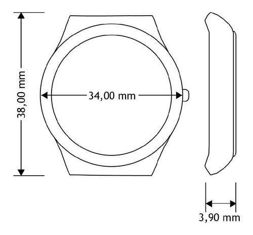 relógio swatch generosity - sfk355m
