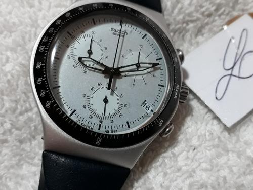relógio swatch irony, cronógrafo, coleção 1998 !