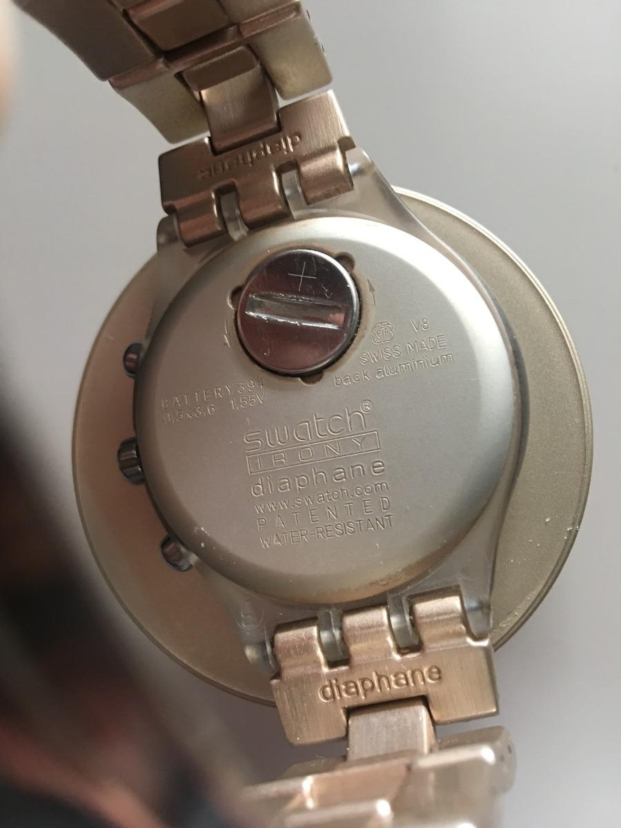 444ec4c5e4d relógio swatch irony diaphane caramel (rosé). Carregando zoom.