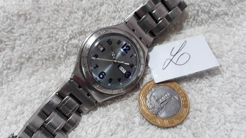 relógio swatch irony, lindo, coleção 1997 - raro modelo !