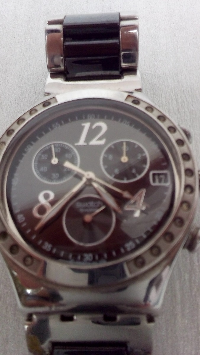 b3a4aa05428 relógio swatch irony masculino usado. Carregando zoom.