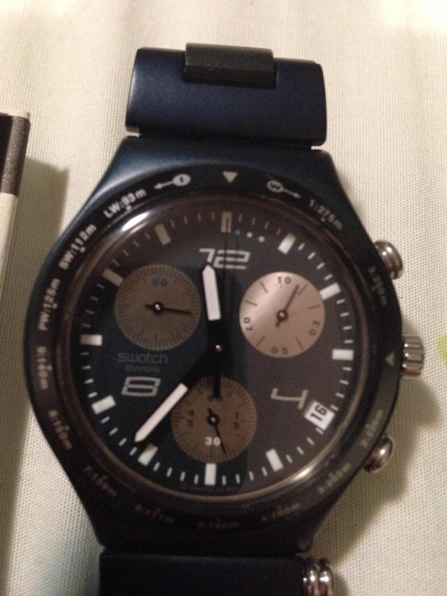 078f4ec8503 Relógio Swatch Irony Sérgio Garcia Edição Limitada - R  580