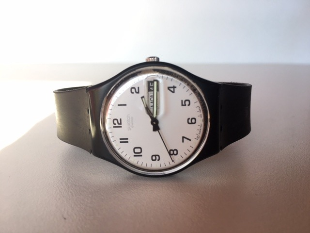 d5203f7c778 Relogio Swatch Once Again Original - R  99