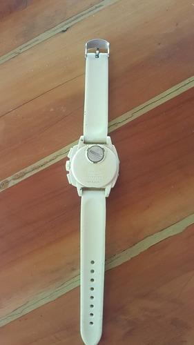 relogio swatch original c cronometro / pulseira de silicone