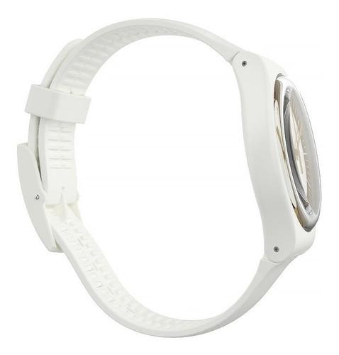 relógio swatch siliwhite - suow158