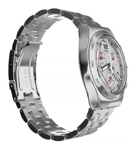 relógio swatch silver again - yvs447g