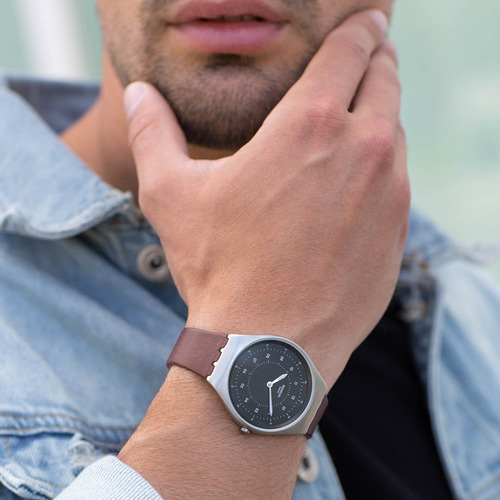 relógio swatch skinastic unissex syxs102