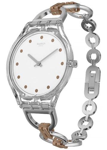 relógio swatch skinring - svok102g