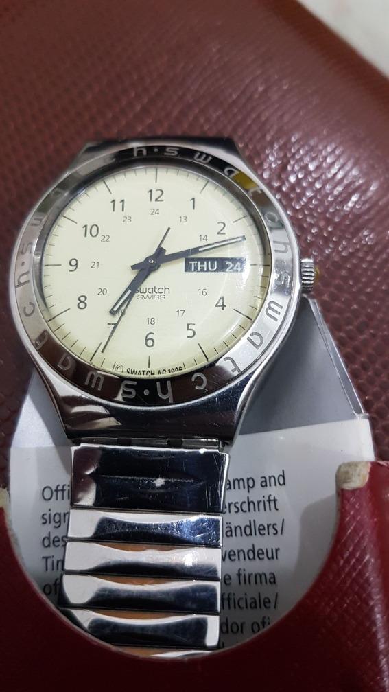 2523a4ac661 relogio swatch suíço original . Carregando zoom.
