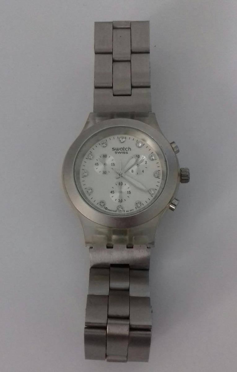 05a6d5e0d6e relógio swatch swiss diaphane prata ag 2011. Carregando zoom.