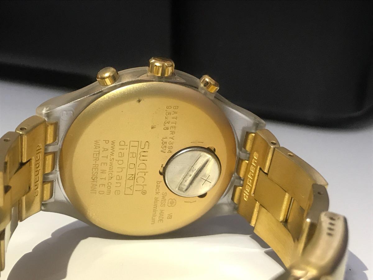 79234455c57 relógio swatch swiss made diaphane. Carregando zoom.